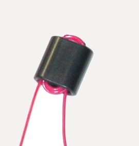 An inductor (can be used together with a capacitor to match impedance).